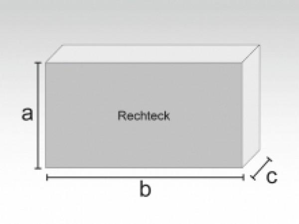 Rechteck aus PU-Schaum RG40/60, 122x90x12cm